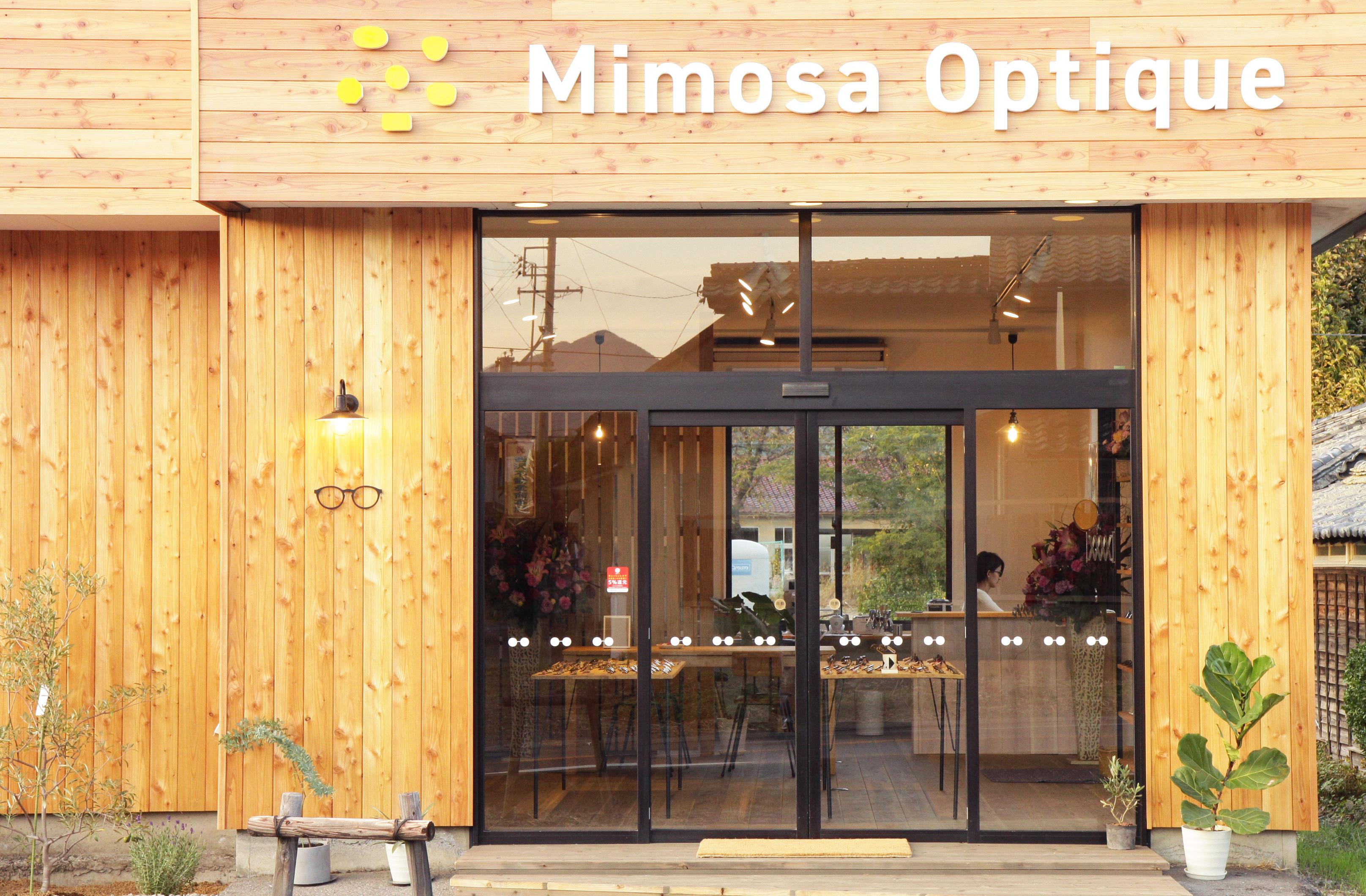 眼鏡店ミモザオプティークがオープンしました!