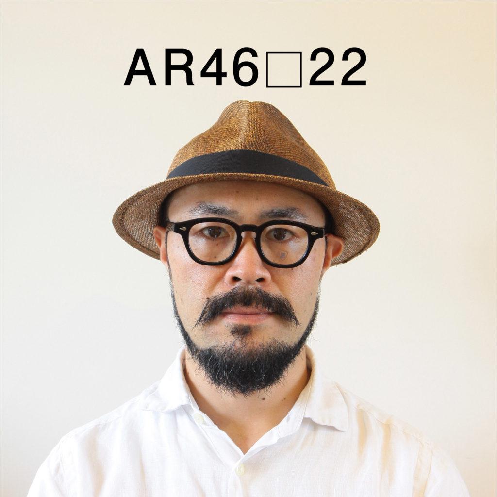 JULIUS TART OPTICAL(ジュリアスタートオプティカル)のメガネAR46サイズ