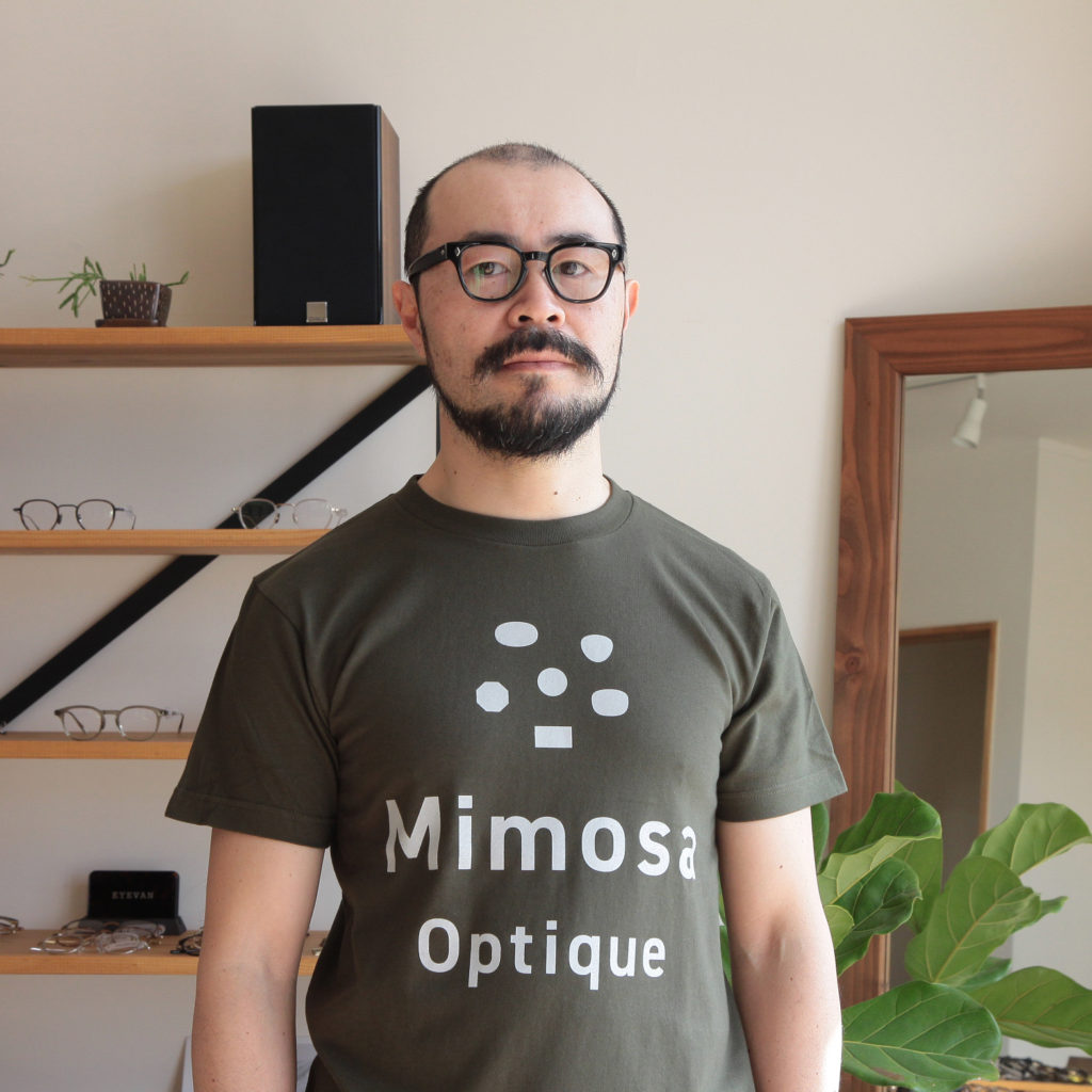 mimosaTシャツカーキ